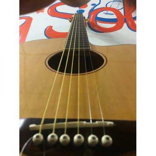 Guitar Acoustic GS AC200 EQ-B12