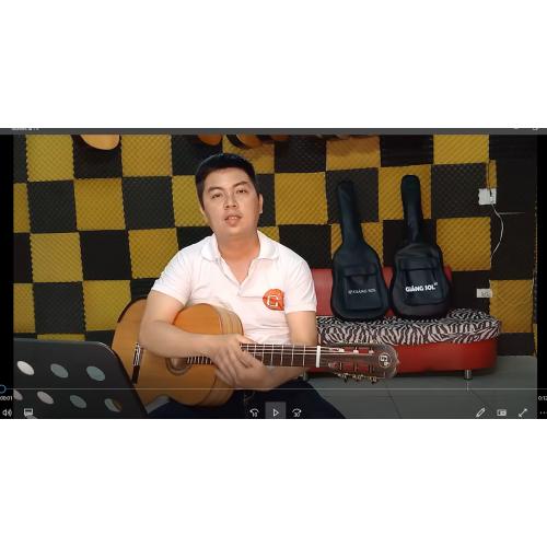 Hướng dẫn solo Guitar We wish you a merry christmas _ Nguyễn Xuân Tùng (Lớp nhạc họa Giáng Sol)