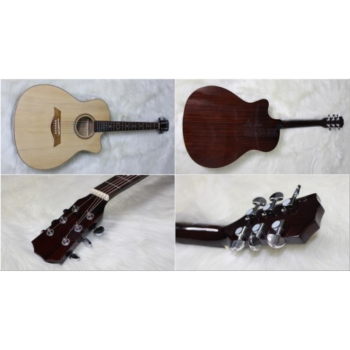 Bán đàn Guitar Acoustic GS A09Đ || Shop nhạc cụ Giáng Sol