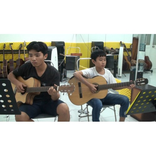 Happy New Year Guitar, Đàm Duy, Hoàng Phước || Dạy đàn Guitar Quận 12, Gò Vấp, Hóc Môn