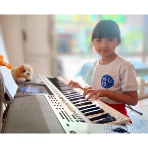 Chúc bé ngủ ngon || Organ || Như Thảo| | Lớp nhạc Giáng Sol TP. HCM