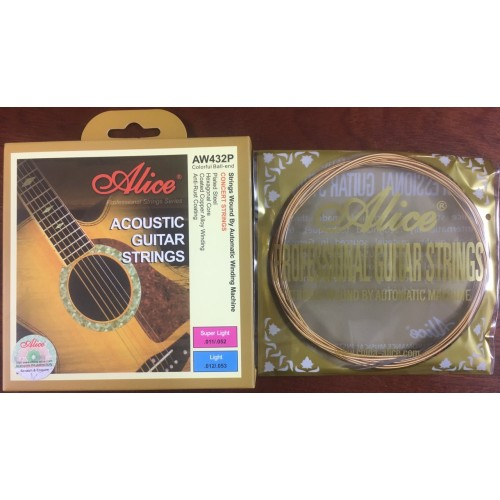 Bộ dây Guitar Acoustic AW432P