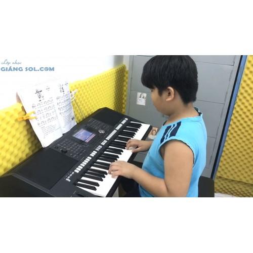 Dạy Đàn Organ Quận 12 || Sắp Đến Tết Rồi, Minh Anh || Lớp nhạc Giáng Sol TP. HCM