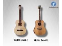 Sự khác biệt giữa đàn guitar Acostic và đàn guitar Classic