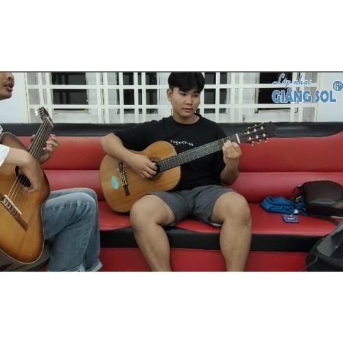 Dạy Đàn Guitar Quận 12 || Ướt Mi || Thanh Hải || Lớp nhạc Giáng Sol Quận 12