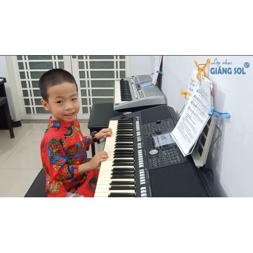 Dạy Đàn Organ Quận 12 || Bụi Phấn || Mạnh Nguyên || Lớp nhạc Giáng Sol Quận 12