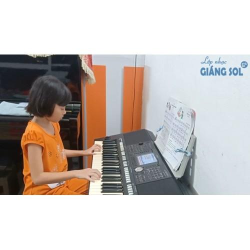 Dạy Đàn Organ Quận 12 || Cháu Yêu Bà || Như Quỳnh || Lớp nhạc Giáng Sol Quận 12