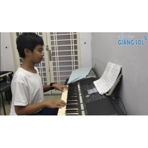 Dạy Đàn Organ Quận 12 || Domino || Vũ Trần Hiếu || Lớp nhạc Giáng Sol Quận 12