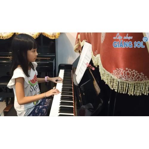 Dạy Đàn Piano Quận 12 || Allegretto || Tâm Như || Lớp nhạc Giáng Sol Quận 12