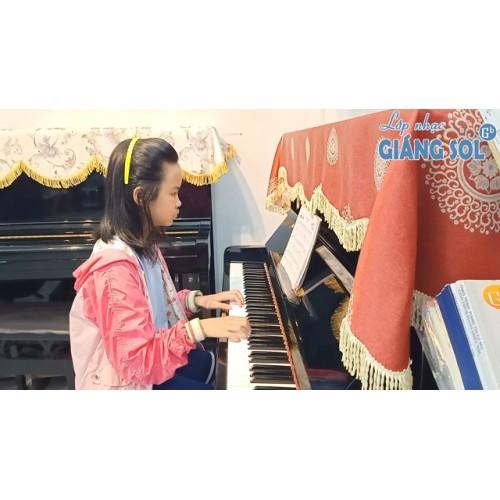 Dạy Đàn Piano Quận 12 || Bà Kể Chuyện || Châu Nghi || Lớp nhạc Giáng Sol Quận 12