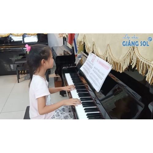 Dạy Đàn Piano Quận 12 || Bông Hoa Mừng Cô || Hà Phương || Lớp nhạc Giáng Sol Quận 12