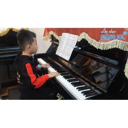 Dạy Đàn Piano Quận 12 || Cả Nhà Thương Nhau || Khôi Nguyên || Lớp nhạc Giáng Sol Quận 12