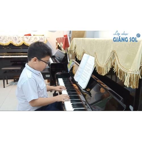 Dạy Đàn Piano Quận 12 || Cô Và Mẹ || Xuân Lộc || Lớp nhạc Giáng Sol Quận 12