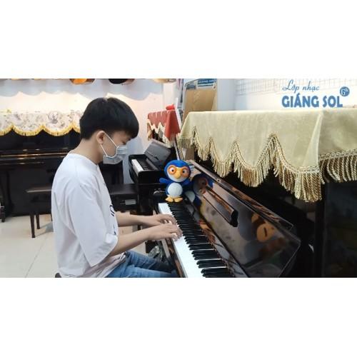 Dạy Đàn Piano Quận 12 || Death Bed || Thiện Nghĩa || Lớp nhạc Giáng Sol Quận 12
