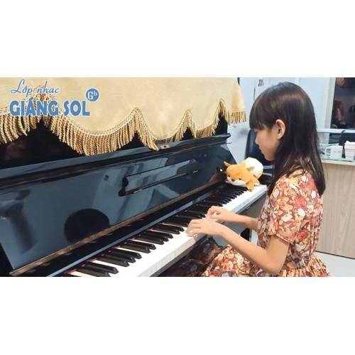 Dạy Đàn Piano Quận 12 || Dòng Sông Xanh || Tâm Như || Lớp nhạc Giáng Sol Quận 12