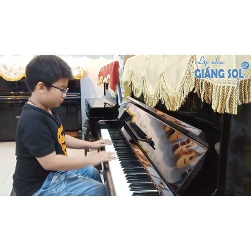 Dạy Đàn Piano Quận 12 || Hai Con Thằng Lằn Con || Xuân Lộc || Lớp nhạc Giáng Sol Quận 12