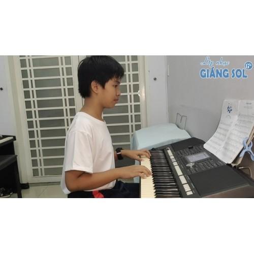 Dạy Đàn Organ Quận 12 || Jadin Secret || Vũ Trần Hiếu || Lớp nhạc Giáng Sol Quận 12