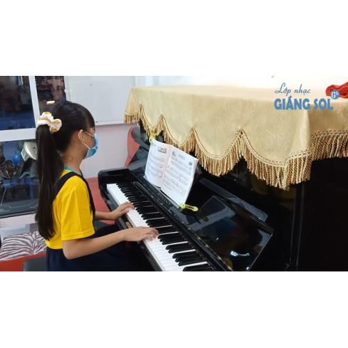 Dạy Đàn Piano Quận 12 || Khúc Ca Miền Son Cước || Phương Vy || Lớp nhạc Giáng Sol Quận 12