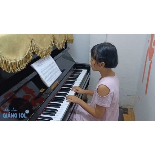 Dạy Đàn Piano Quận 12 || Khúc Chiều Tà || Khánh Thoa || Lớp nhạc Giáng Sol Quận 12