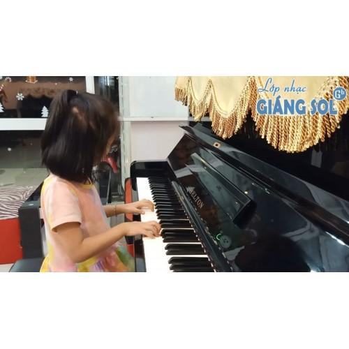 Dạy Đàn Piano Quận 12 || Lái Ô Tô || Sophia || Lớp nhạc Giáng Sol Quận 12