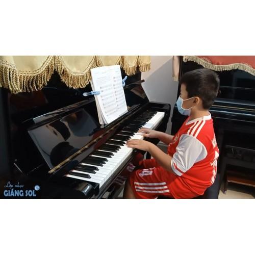 Dạy Đàn Piano Quận 12 || Lullaby || Nhật Minh || Lớp nhạc Giáng Sol Quận 12