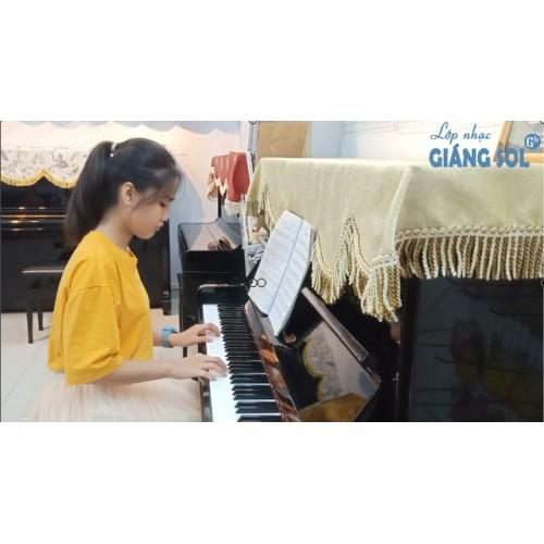 Dạy Đàn Piano Quận 12 || Mariage D'amour || Thục Nghi || Lớp nhạc Giáng Sol Quận 12