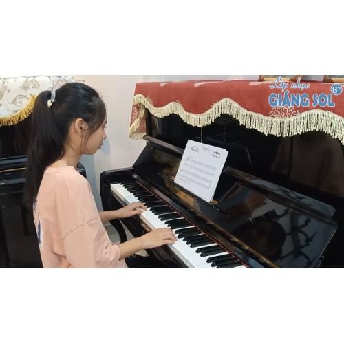 Dạy Đàn Piano Quận 12 || Những Bước Chân Đầu Tiên || Minh Hương || Lớp nhạc Giáng Sol Quận 12