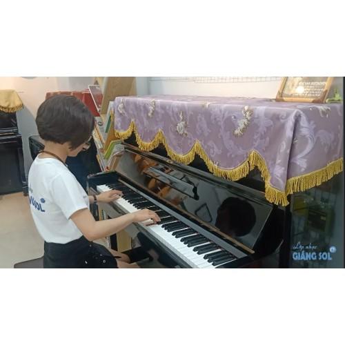 Dạy Đàn Piano Quận 12 || Nostalgy || Cô Hồng Ngọc || Lớp nhạc Giáng Sol Quận 12