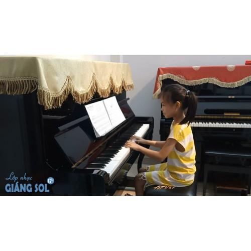 Dạy Đàn Piano Quận 12 || Romace || Hà Phương || Lớp nhạc Giáng Sol Quận 12