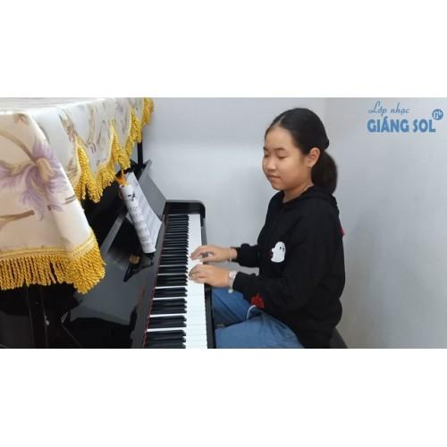 Dạy Đàn Piano Quận 12 || Tạm Biệt Mùa Đông || Minh Châu || Lớp nhạc Giáng Sol Quận 12