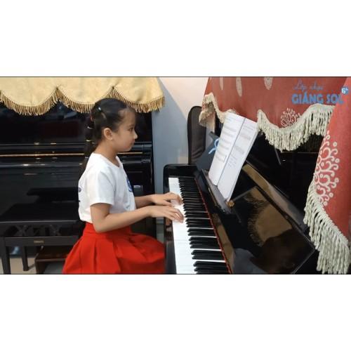 Dạy Đàn Piano Quận 12 || Twinkle Twinkle || Như Thảo || Lớp nhạc Giáng Sol Quận 12