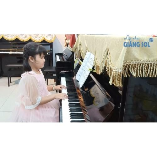 Dạy Đàn Piano Quận 12 || Vào Rừng Hoa || Bảo Quyên || Lớp nhạc Giáng Sol Quận 12