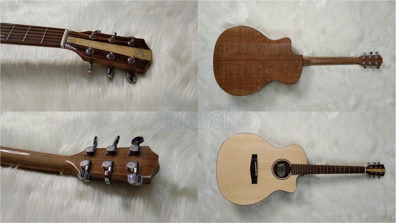 Bán đàn Guitar Acoustic GSA720 || Shop Nhạc Cụ Giáng Sol Quận 12, địa chỉ bán đàn guitar ở quận 12, cơ sở bán đàn guitar giá rẻ, bán đàn guitar quận 12, shop guitar acoustic, shop đàn, bán đàn ukulele quận 12, bán đàn piano quận 12, bán đàn piano