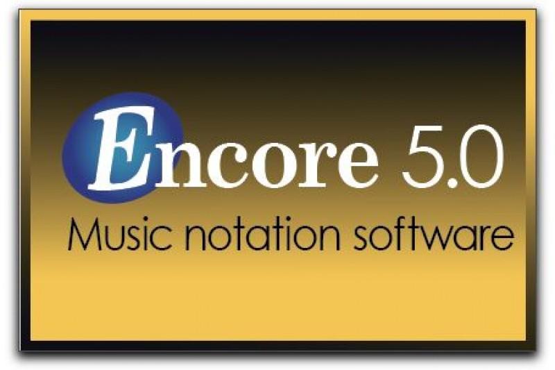 encore 5.0, phần mềm viết nhạc